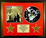 OASIS/CD DISPLAY/LIMITED EDITION/COA/HEATHEN CHEMISTRY