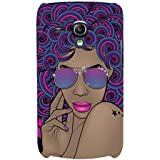 Cool Girl Hard Polycarbonate Designer Back Case Cover For Samsung Galaxy S3 Mini I8190 :: Samsung I8190 Galaxy S III Mini :: Samsung I8190N Galaxy S III Mini
