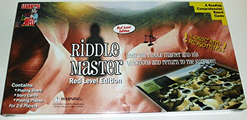 Riddle Master: A Reading Comprehension Board Game (Red Level Edition)