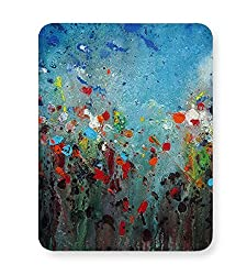 PosterGuy Mouse Pad - Floral Abstract | Designed by: Anshu Art