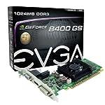EVGA GeForce 8400 GS 1 GB DDR3 PCI Express 2.0 DVI/HDMI/VGA Graphics Card, 01G-P3-1302-LR