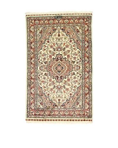 Eden Carpets Alfombra Kashmirian Marrón/Multicolor 122 x 76 cm