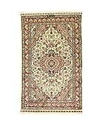 L'EDEN DEL TAPPETO Alfombra Kashmirian Marrón/Multicolor 76 x 122 cm