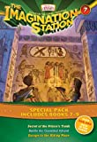 img - for Imagination Station Books 3-Pack: Secret of the Prince's Tomb / Battle for Cannibal Island / Escape to the Hiding Place (AIO Imagination Station Books) book / textbook / text book