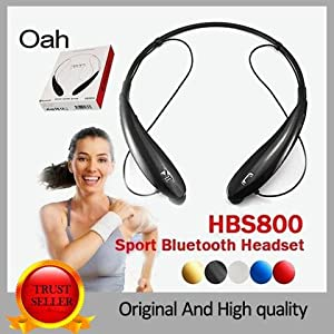 HBS902 Wireless Bluetooth sport headset Neckband Style With MIC Bass Headphones Earphone with stereo HiFI NFC for iPhone