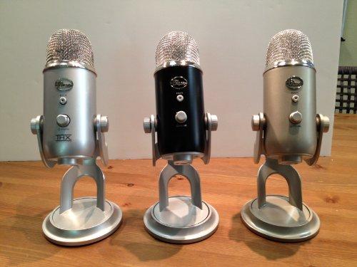 Blue Microphones Yeti Usb Microphone - Black