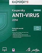 Kaspersky - Antivirus 2014, Renovación, 3 Usuarios