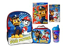 Paw Patrol Backpack and Accessories Set