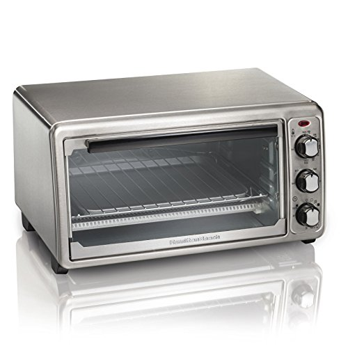 Hamilton Beach 6- Slice Stainless Steel Toaster Oven For Toasting, Baking And Broiling (Toasting Oven compare prices)