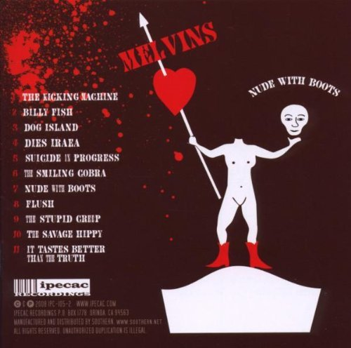 Nude With Boots by Melvins (2008-07-08)
