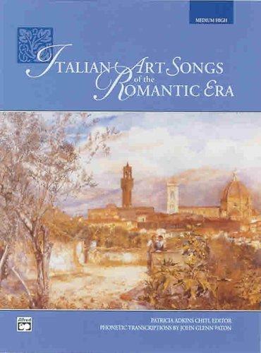 Italian Art Songs of the Romantic Era (Medium High)