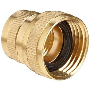 Anderson Metals Brass Garden Hose Fitting Swivel Npt Female Hose Id X Ght Female