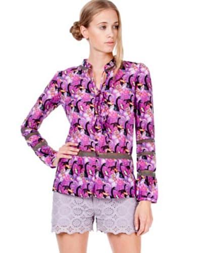 Custo Barcelona Camicia Candy Holland [Viola]