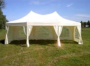 riesiges Partyzelt 6, 80m x 5, 00m Bierzelt Festzelt Zelt Pavillon KuppelzeltKritiken und weitere Infos