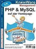 echange, troc Johann-Christian Hanke - PHP und MySQL auf der Homepage