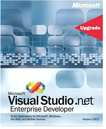 Microsoft Visual Studio .NET Enterprise Developer 2003 Upgrade from 2002 [Old Version]