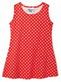 Flap Happy Fit and Flare Dress, Red Dot, 12 Months