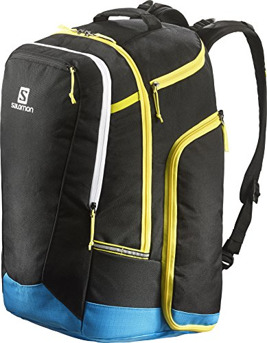 Salomon Scarpa Borsa Extend Go To Snow Gear Bag, Unisex, Schuhtasche Extend Go to Snow Gear Bag, Nero/blu, taglia unica