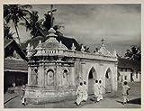 1928 Christian Chapel Church Alleppey Alappuzha India - Original Photogravure