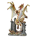 Classic Serpent Dragon Desktop Statue Sculpture Figurine