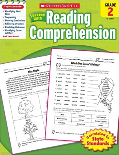 Worksheets Picture Comprehension For Grade 2 buy scholastic success with reading comprehension grade 2 tests book online at low prices in india schola