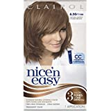 Clairol Nice 'n Easy Hair Color 114A Natural Lightest Golden Brown 1 Kit (Pack of 3)