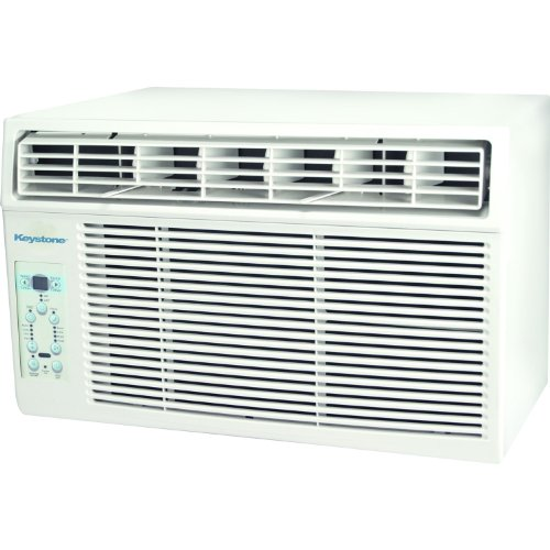 """Principle KSTAW08B Energy Star 8000-BTU Window-Mounted Air Conditioner with """"Follow Me"""" LCD Remote Control, 115-volt"""
