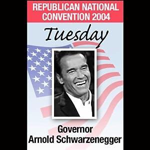 2004 RNC: Governor Arnold Schwarzenegger (8/31/04) | [Arnold Schwarzenegger]