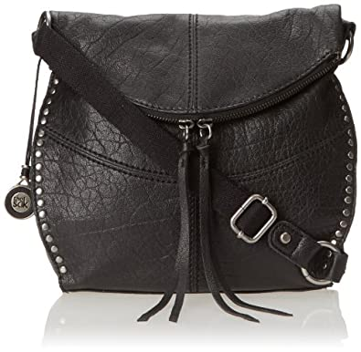 The SAK Silverlake Cross Body Bag, Black, One Size