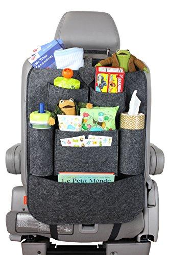Pelikus 174 Felt Multi Pocket Travel Back Seat Car Organizer