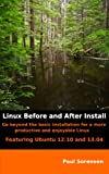 img - for Linux - Before and After Install book / textbook / text book