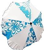 Lux4Kids cochecito paraguas variables de brazo giratorio flores aguatiques