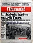 HUMANITE (L') [No 15968] du 16/12/199...