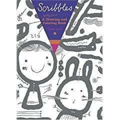 Scribbles: A Really Giant Drawing and Coloring Book Paperback