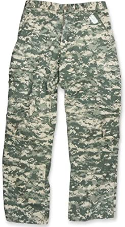 ACU Paratrooper Army Cargo Fatigues (Digital Camo) #2666 (X-Small (23-27 inches))