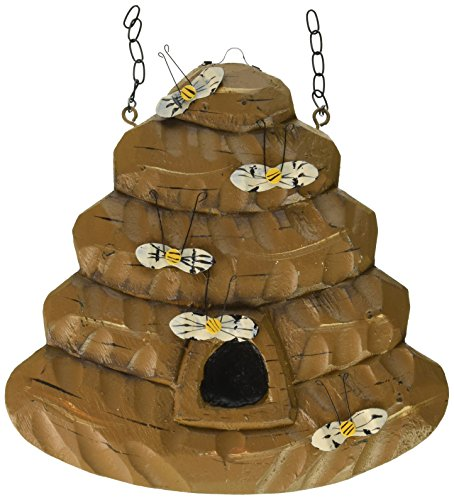Hanging Bee Hive Decorative Plaque for Arrow Hanger