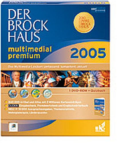 Brockhaus 2005 multimedial premium (Linux-DVD)
