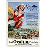 Advertisement for Ovaltine (V&A Custom Print)