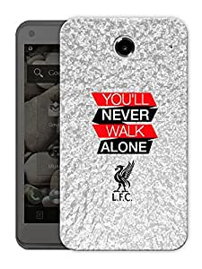 """You'Ll Never Walk Alone Printed Designer Mobile Back Cover For """"Lenovo S880"""" By Humor Gang (3D, Matte Finish, Premium Quality, Protective Snap On Slim Hard Phone Case, Multi Color)"""