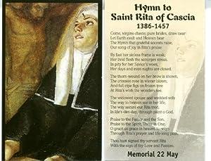 Amazon.com : Saint/St. Rita Holy Prayer Card Wallet Size