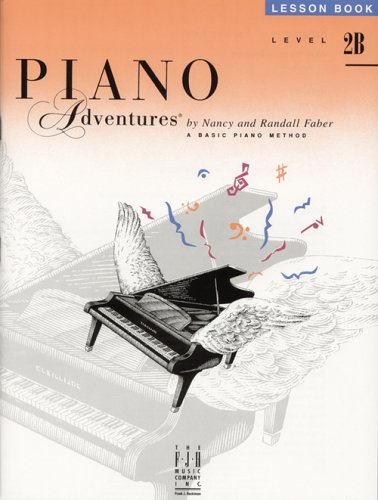Piano Adventures Lesson Book Level 2B