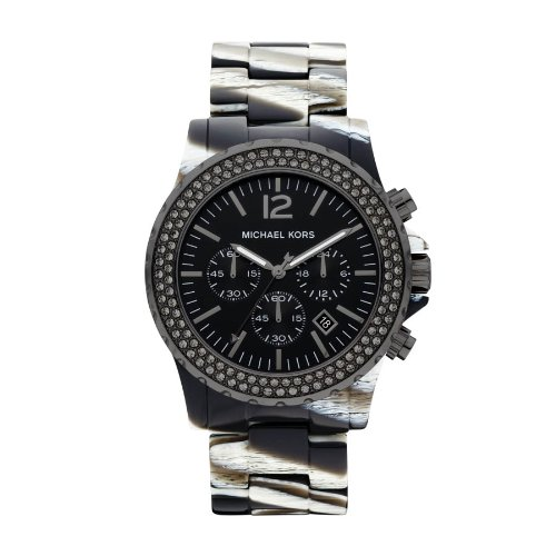 Michael Kors MK5599 Ladies Zebra Chronograph Watch