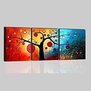 quadri moderni astratti olio su tela dipinti a mano quadro ForAmazon Quadri