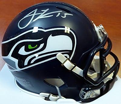Jermaine Kearse Autographed Seattle Seahawks Speed Mini Helmet In Silver MCS Holo Stock #106257