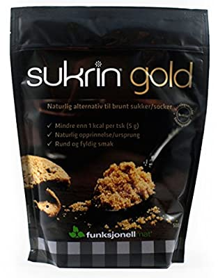 Sukrin Gold - The Natural Brown Sugar Alternative - 500g by Funksjonell Mat AS