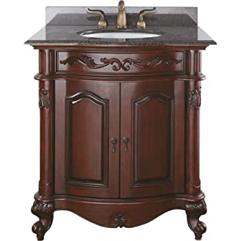 Avanity Provence 30 in. Vanity Only in Antique Cherry finish