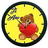meSleep Te Amo 3D Wall Clock (With Glass)