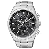 Citizen Mens AT8010-58E Stainless Steel Eco-Drive Dress Watch