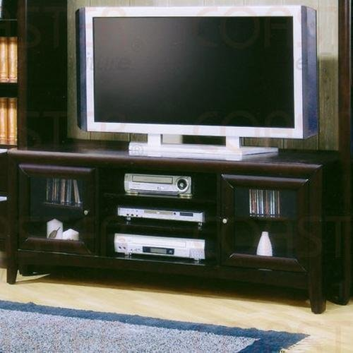 Madison Tv Stand in Dark Cappuccino By Coaster Furniture