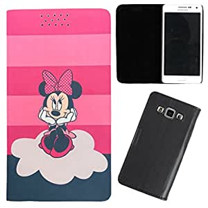 DooDa - For Samsung Galaxy fame PU Leather Designer Fashionable Fancy Flip Case Cover Pouch With Smooth Inner Velvet